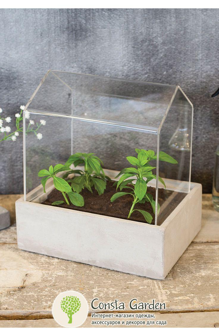 Pro Idee Garten Luxus Мини тепРица дРя рассады и цветов Esschert Design