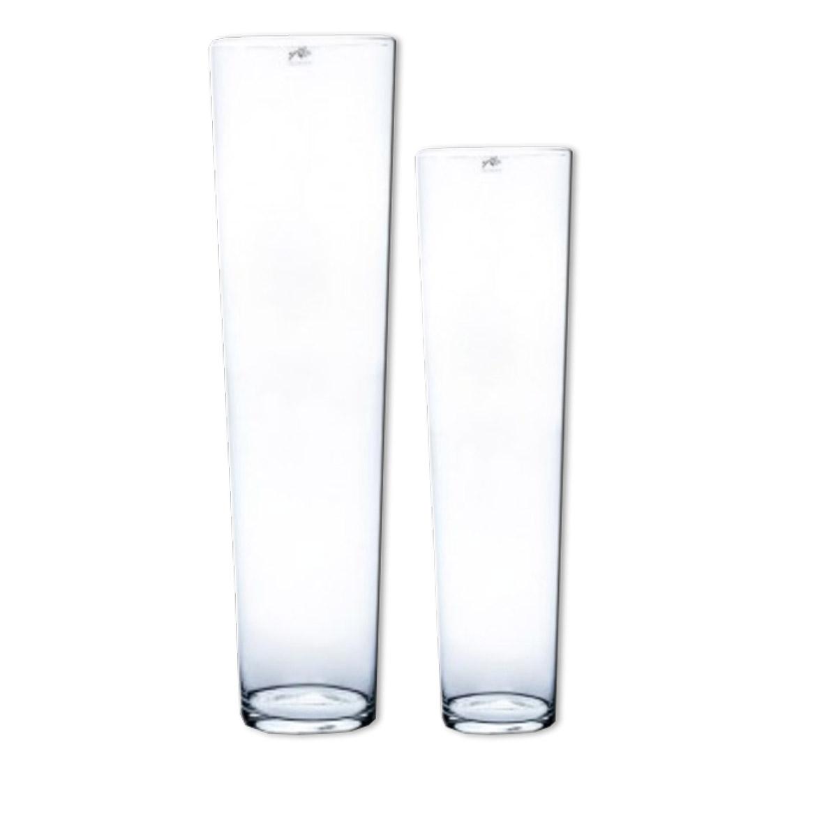 1114 1115 Vase konisch Glas klar 300dpi
