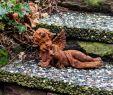 Rost Figuren Garten Elegant Garden Sculpture Angel Religious Statue Garden Iron Rust Antique Style