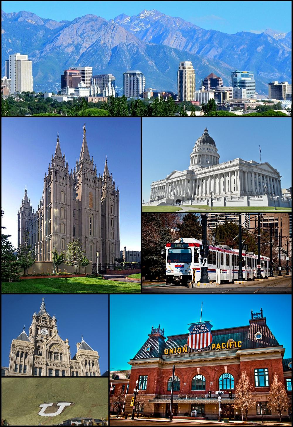 Salt Lake City montage 19 July 2011
