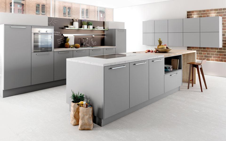 Arbeitsplatte küche Metall