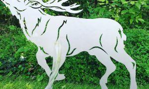 28 Luxus Rostfiguren Tiere