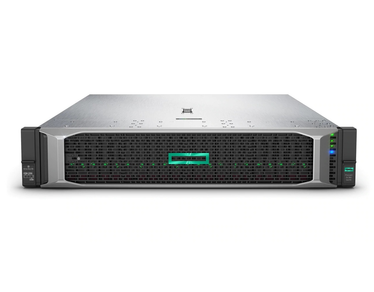 hewlett packard enterprise proliant dl380 gen10 4210 8sff perf ww server 2 2 ghz intel xeon silver rack 2u 800 w p b21