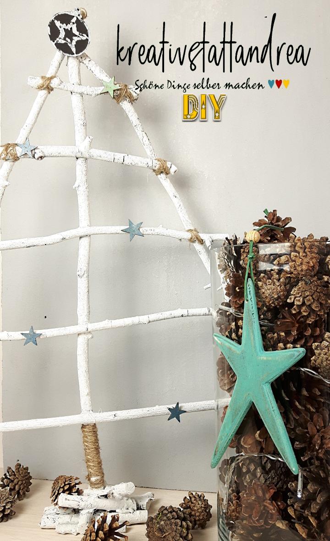 dekoideen mit naturmaterial mit 5 diy dekoideen fur weihnachten diy 18 und diy basteln weihnachten dekoideen naturmaterialien weihnachtsbaum tannenbaum hirsch tablett bastelideen dekoideen kerzen holz