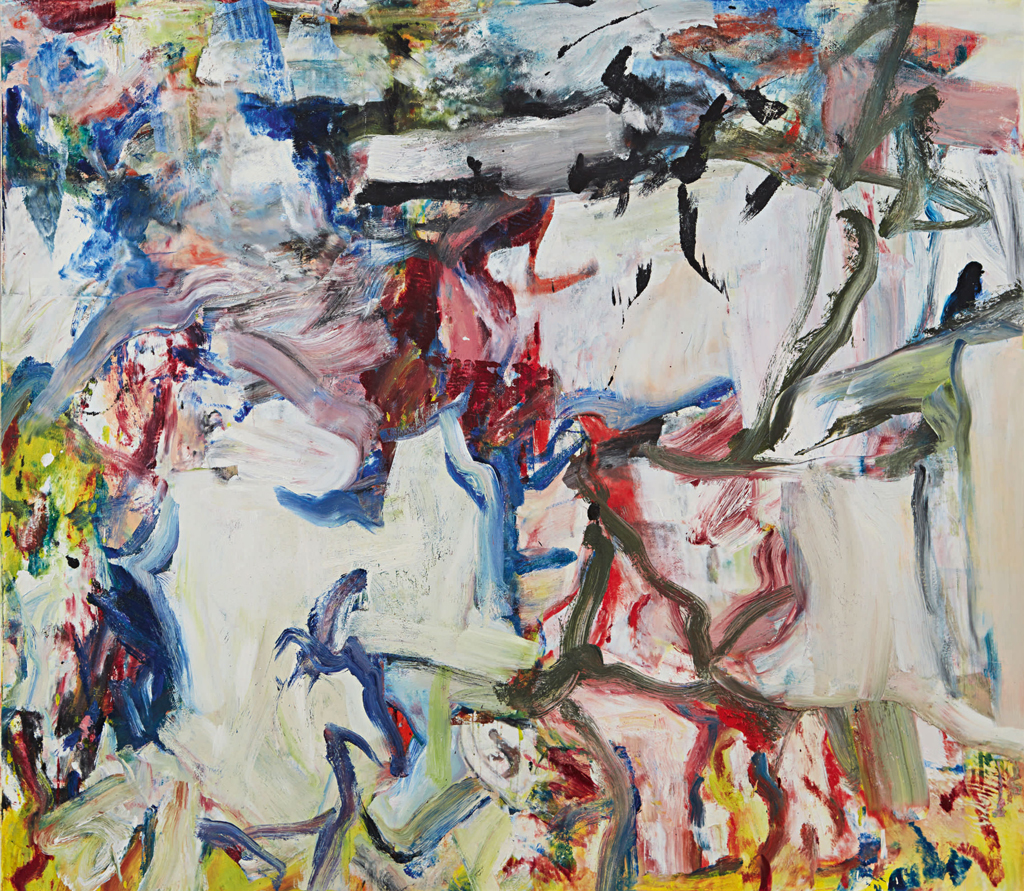 Abstract Expressionism Leads Sothebys Contemporary Sale in New York with