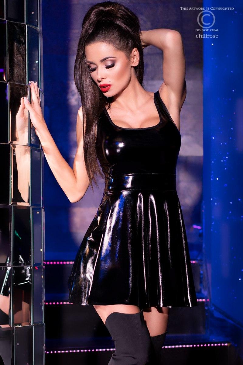 schwarzes latex minikleid 1280x1280