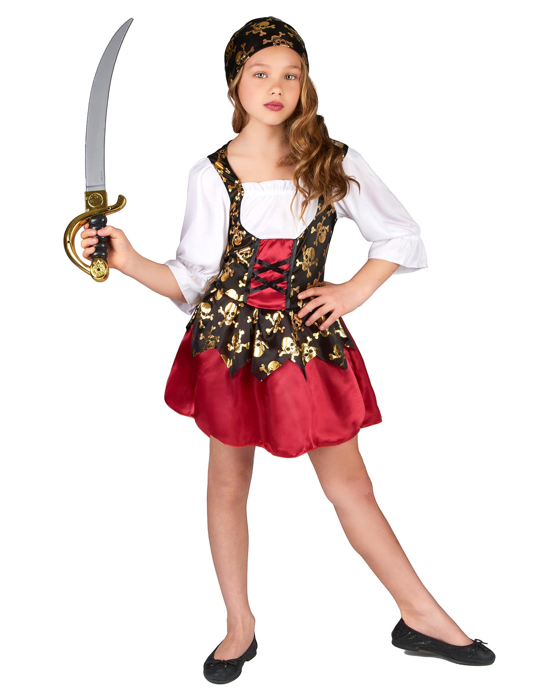 kostum fur ein piratenmadchen