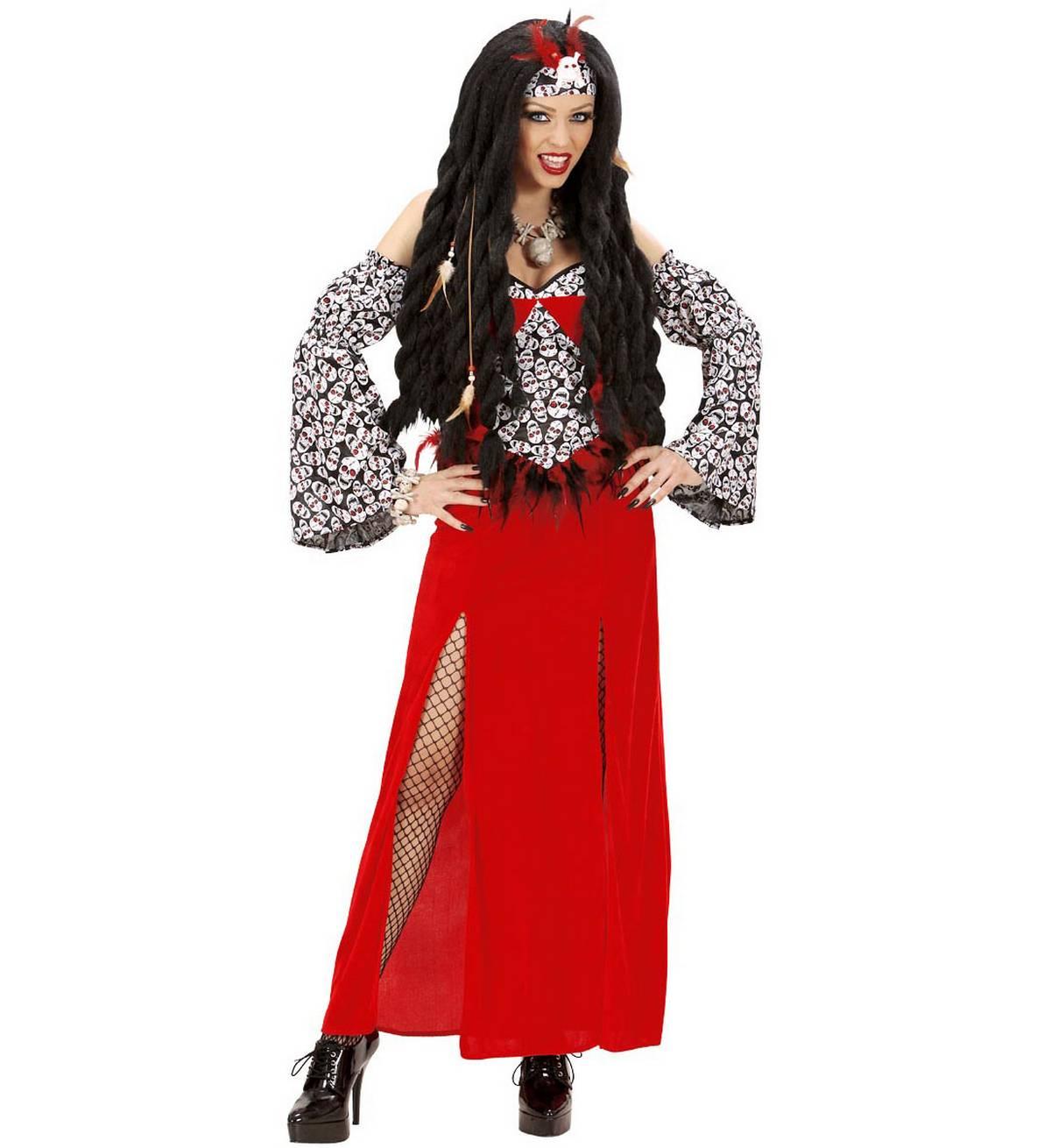 voodoo priesterin kleid armel kopfbedeckung wdm jxBRYeLhEGy4