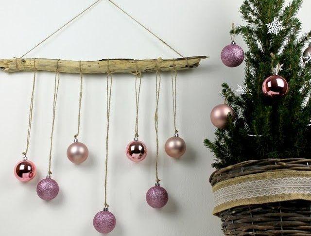 Selber Machen Deko Schön ☆ Diy Ausgefallene Weihnachtliche Wanddekoration Aus