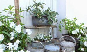 22 Elegant Shabby Chic Deko Garten