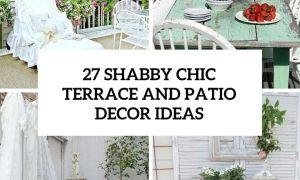28 Frisch Shabby Chic Gartendeko