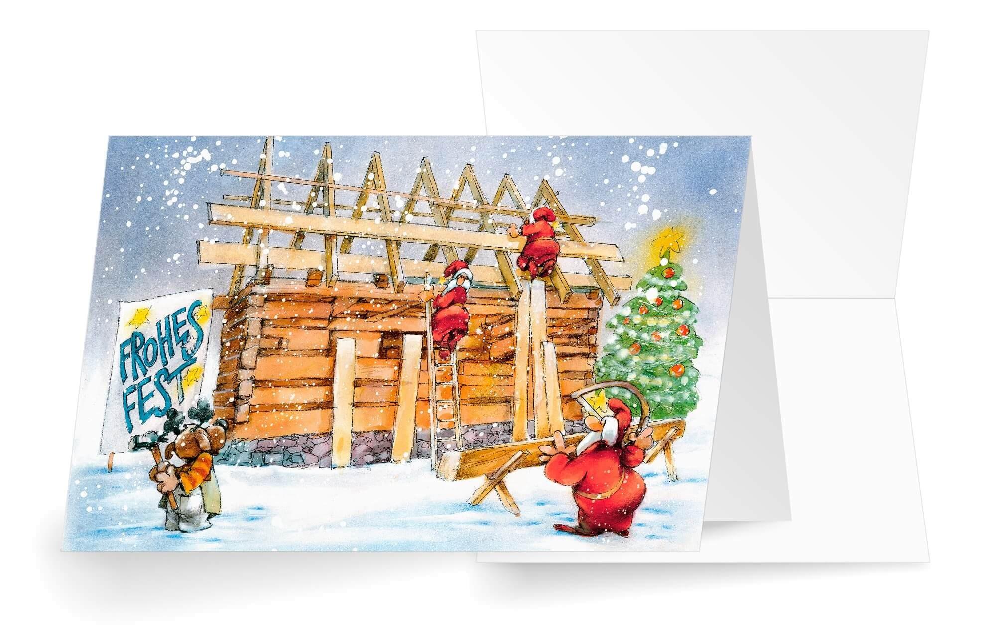 branchenkarte holzbau zimmerei holzhaus frohes fest bunt 1280x1280 2x