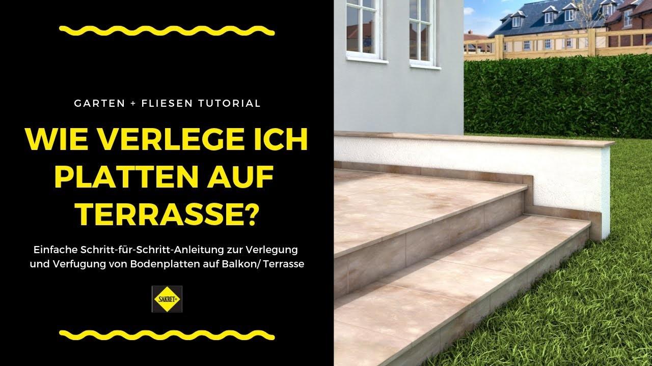 bodenfliesen bodenplatten auf balkon und terrasse verlegen verfugen neu sakret terrasse verfugen of terrasse verfugen