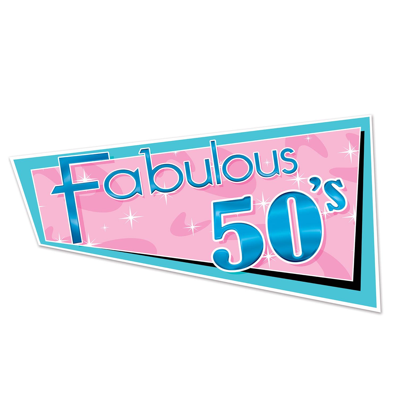 Fabulous 50 s Mottoparty Deko