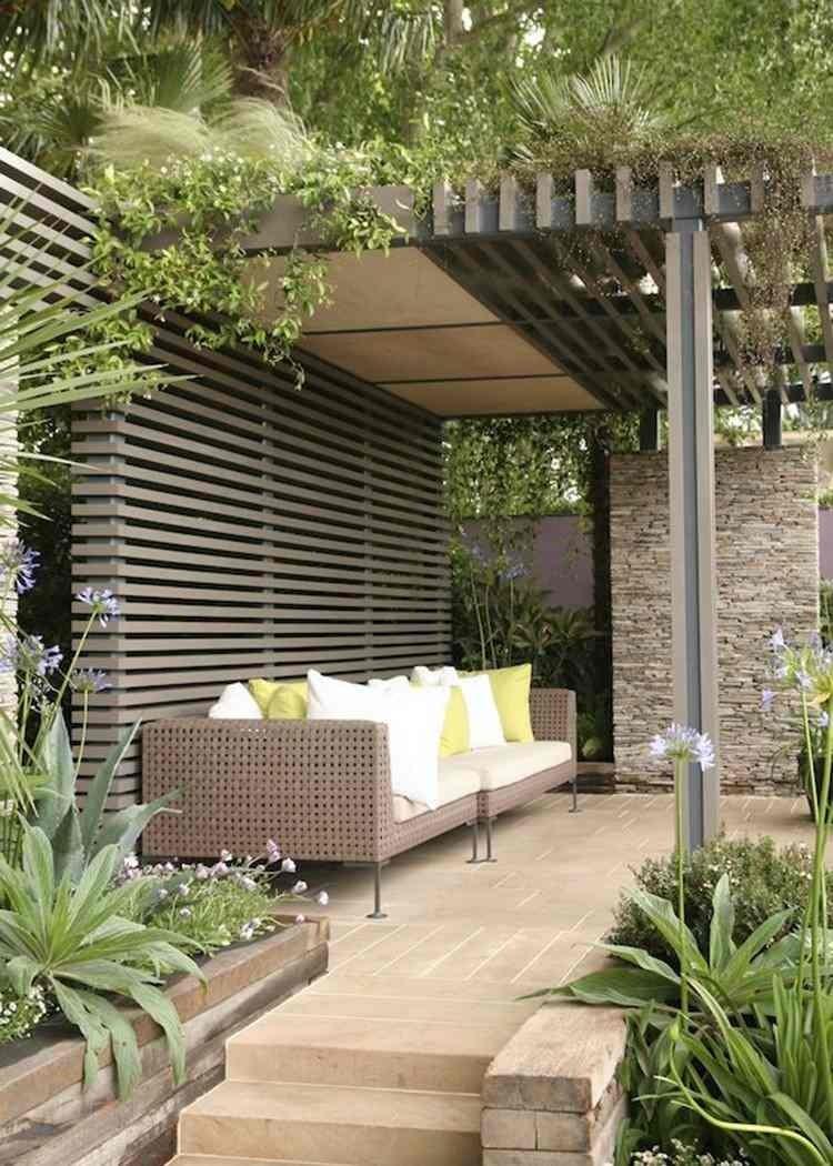 pergola en bois pour la terrasse en 22 exemples superbes terrasse pergola of terrasse pergola