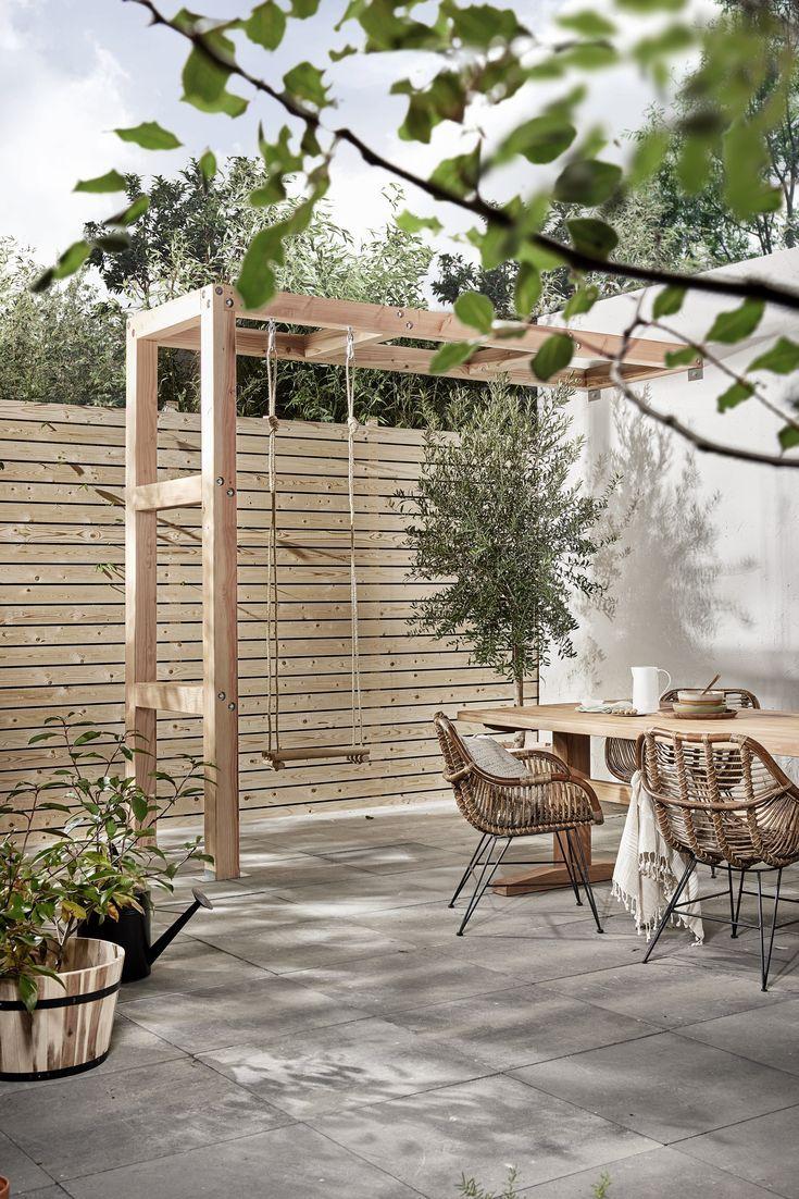 Sitzecke Garten Ideen Inspirierend Schaukel Auf Der Terasse Tuin