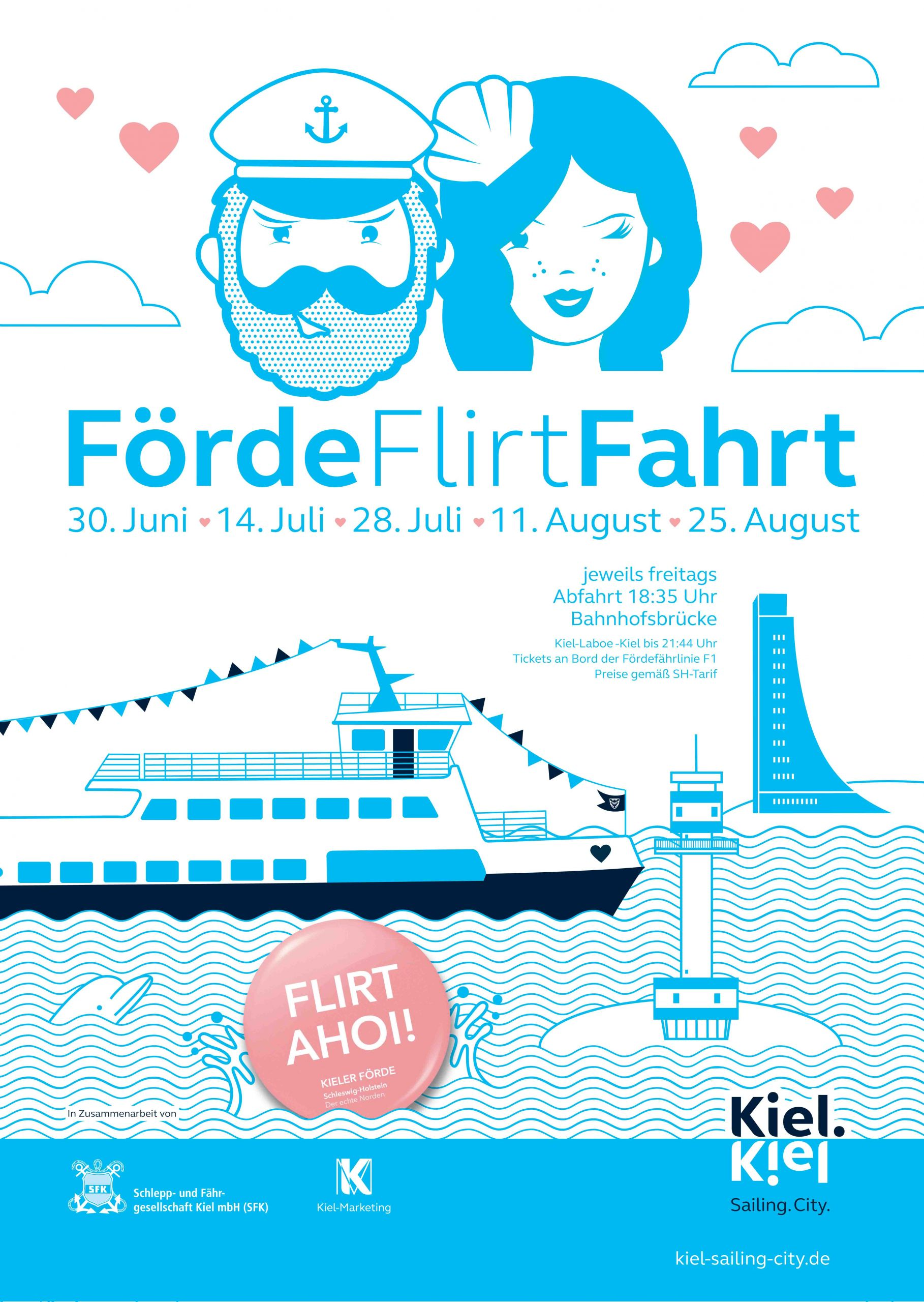 Plakat Förde Flirt Fahrt 1MB