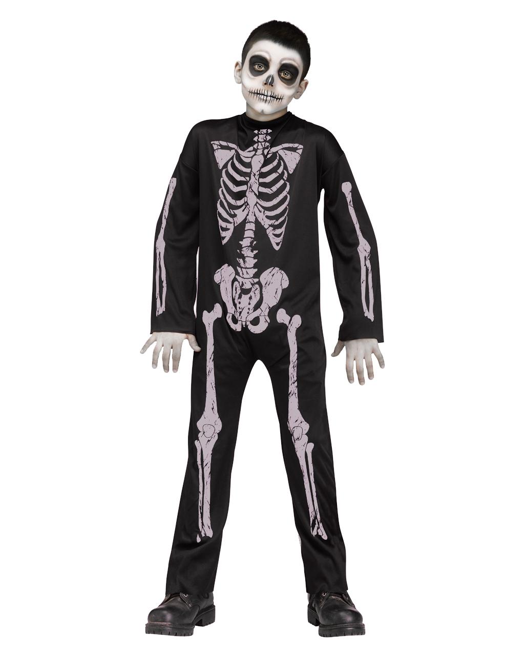 Skelett Halloween Kostüm Genial Skelett Kinder Kostüm Jumpsuit Für Halloweenpartys