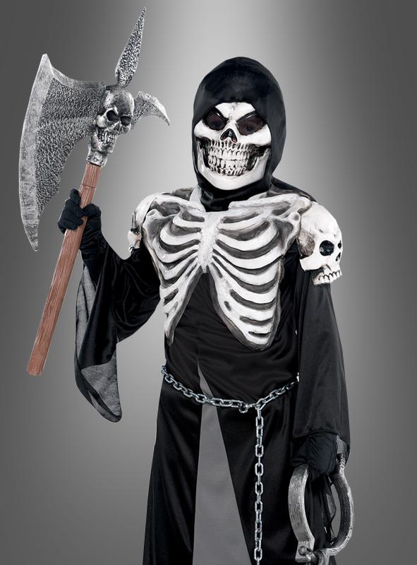 Halloween Skelett Kinderkostuem