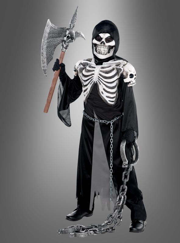 Halloween Skelett Kinderkostuem oxid