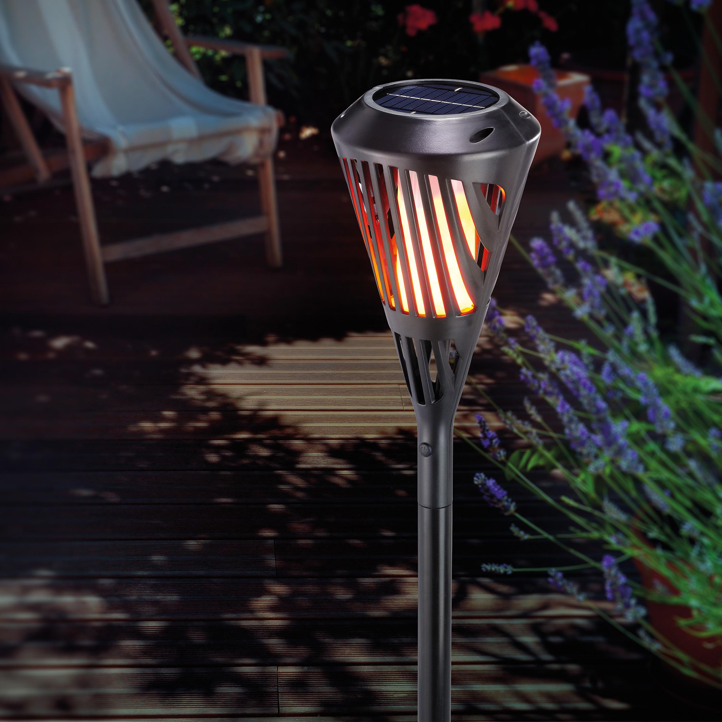 Solar Gartendeko Luxus Led Outdoor Fackel Wasserdicht & solar Gartendeko