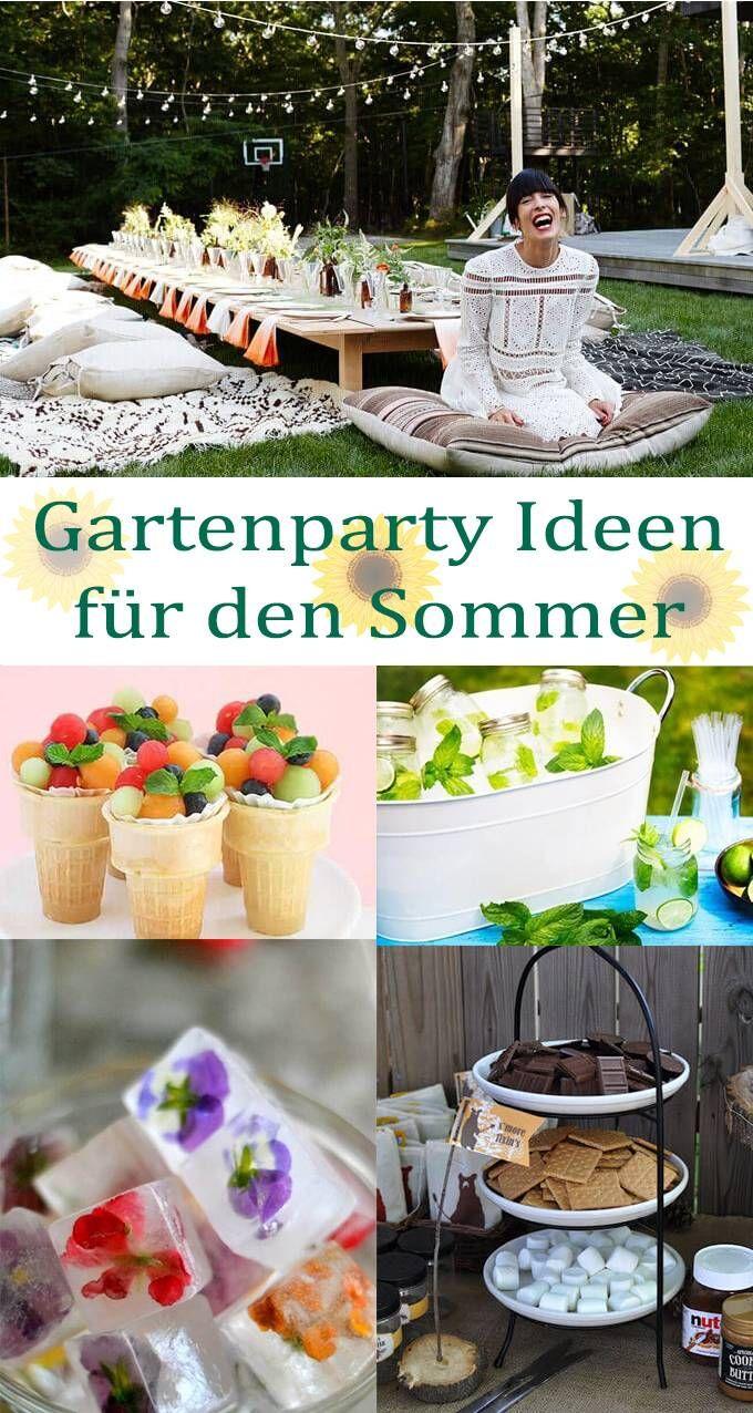 Sommerparty Deko Elegant sommer Garten Party Ideen Deine Feste Auf Ein Neues