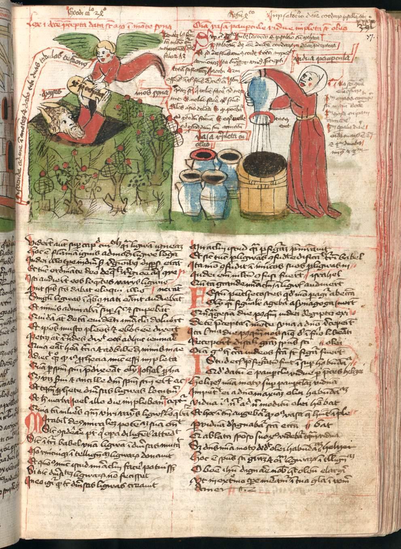 Spiegel Im Garten Frisch Zwei Miniaturen Moses Empfängt Zehn Gebote Elischa