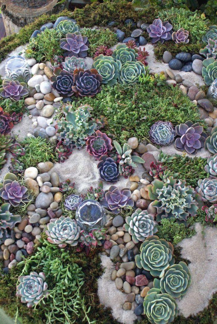 Steingarten Deko Einzigartig Front Yard Rock Garden Landscaping Ideas 37