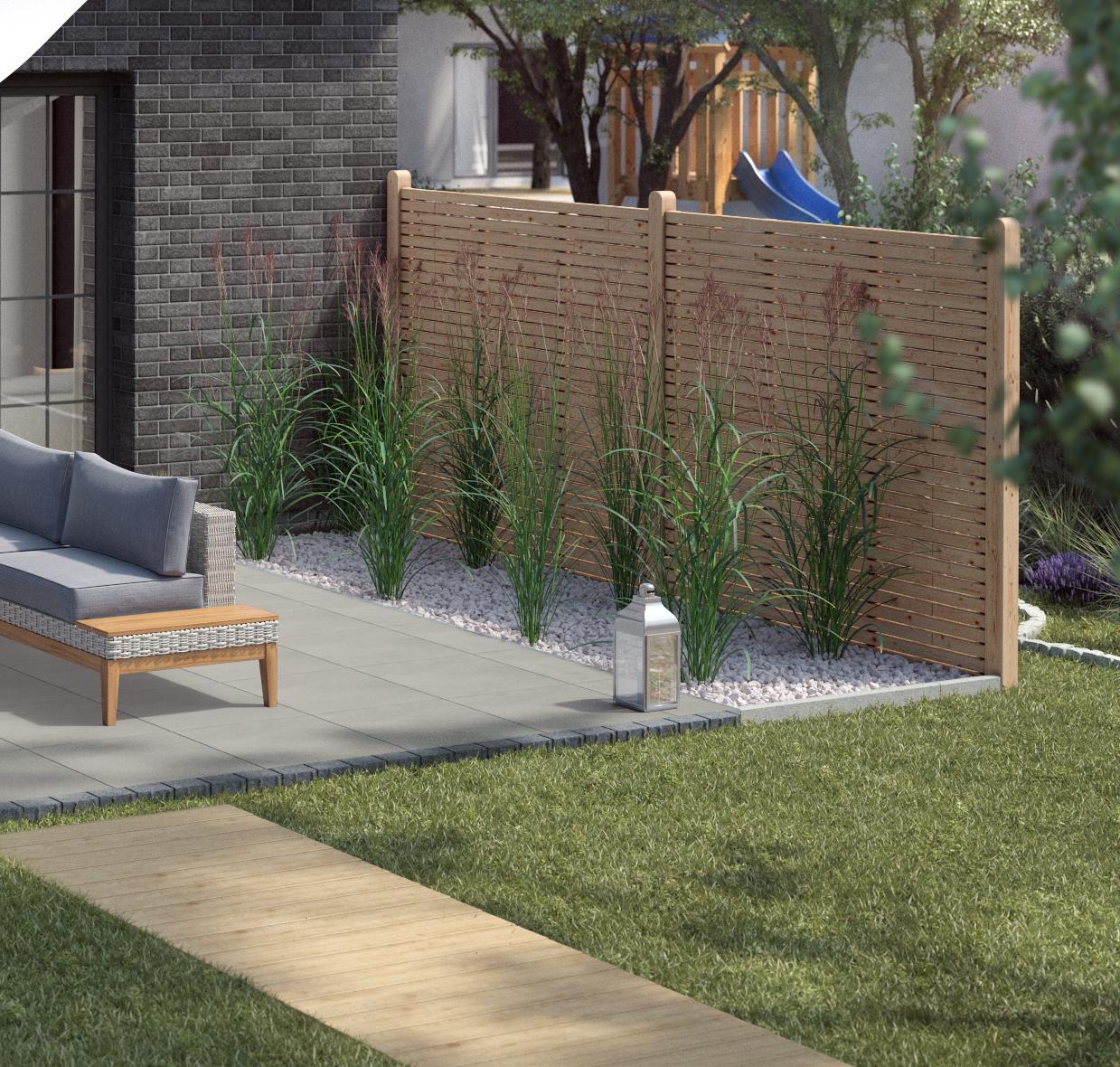 Gartengestaltung Terrasse modern DE 2