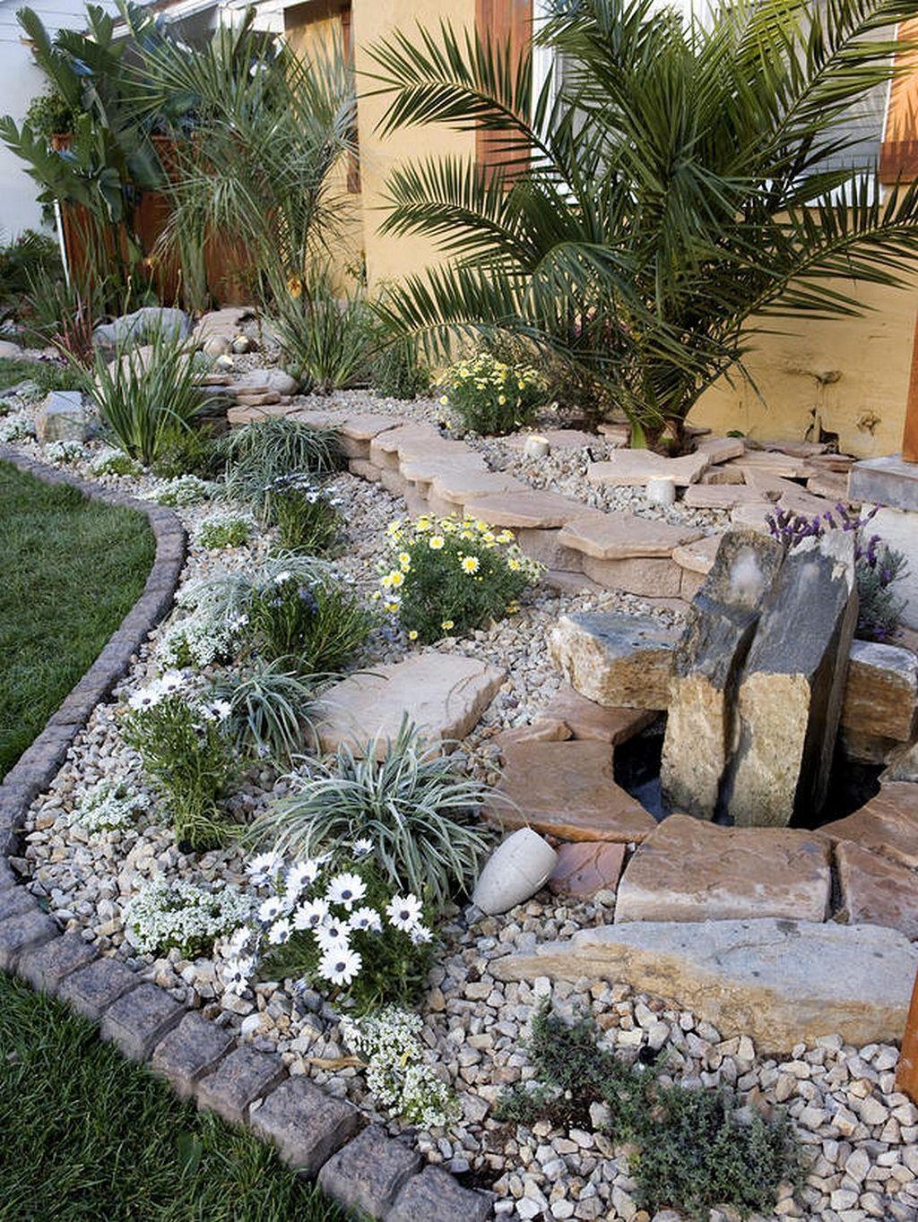 Steingarten Ideen Inspirierend 50 Amazing Modern Rock Garden Ideas for Backyard