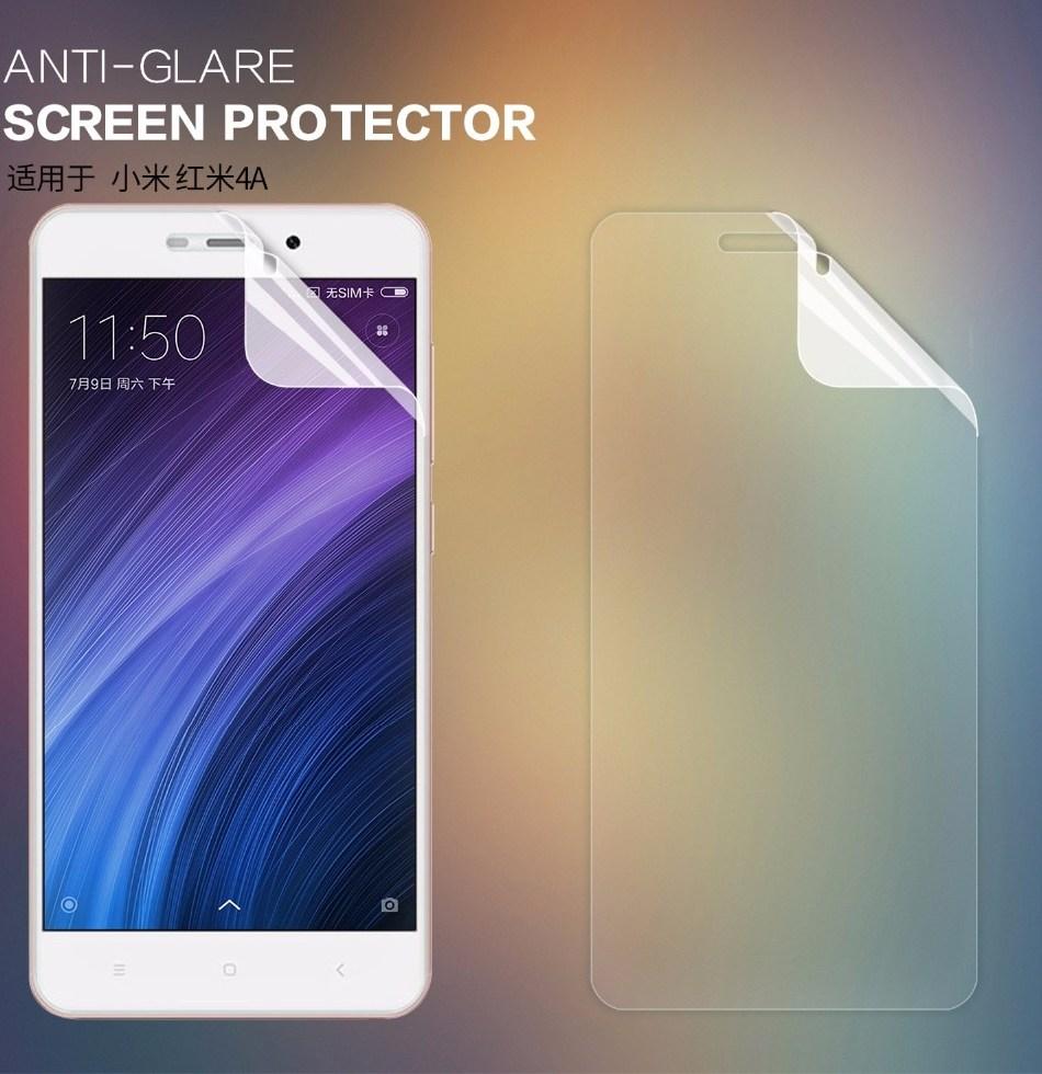 2 шт комплект Xiaomi Redmi 4A защита экрана Nillkin Anti блики матовая защитная пленка для Xiaomi