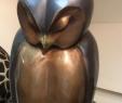 Teich Deko Figuren Neu Bronze Owl Statues to See these Amazing Lifelike