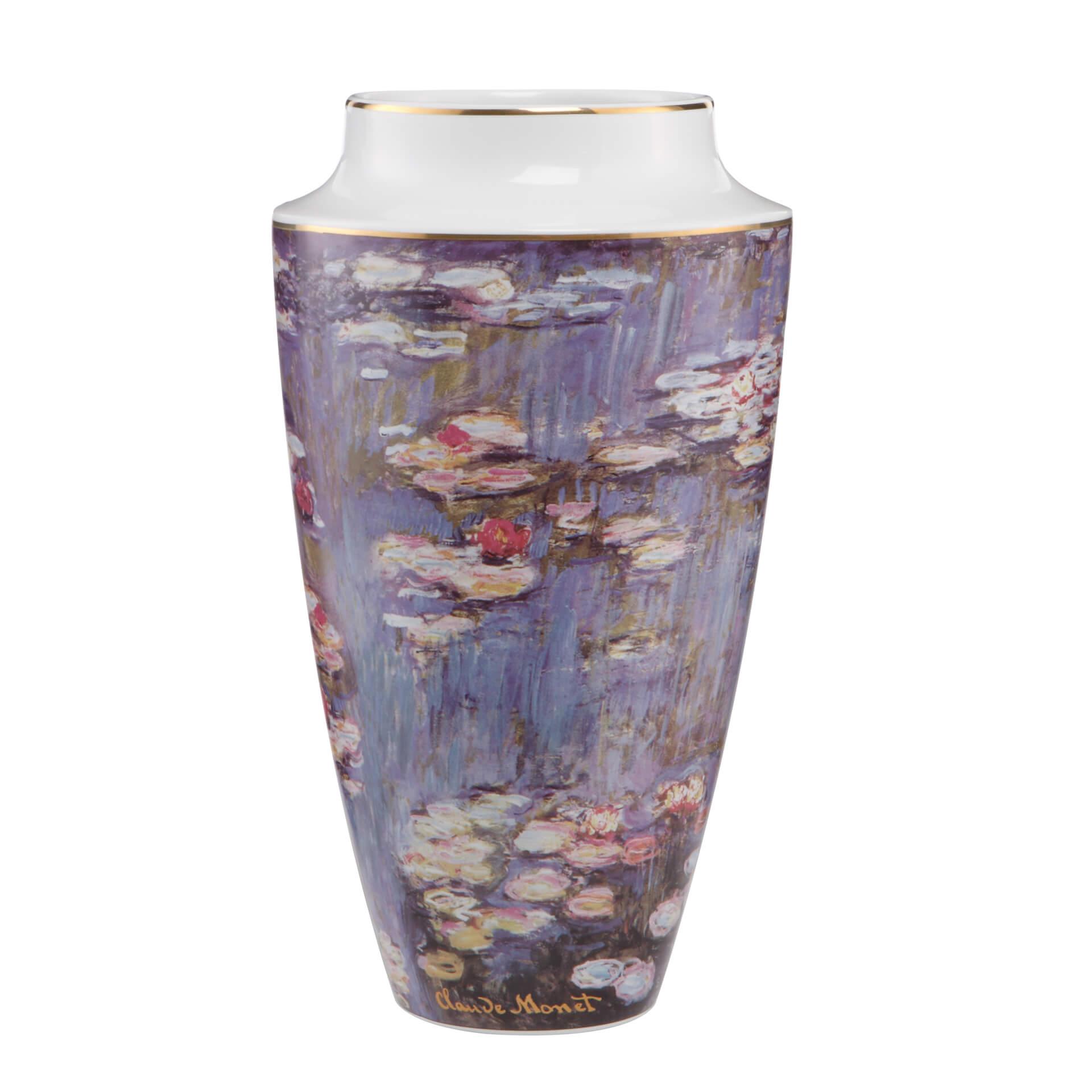 wasser blumen bunt porzellan vase designvase tischvase 01