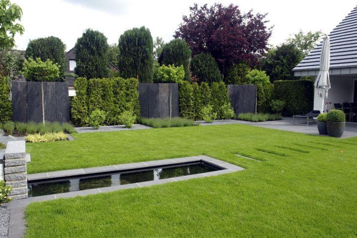 Teich Ideen Garten Best Of Gärten Geradlinig Gestaltet
