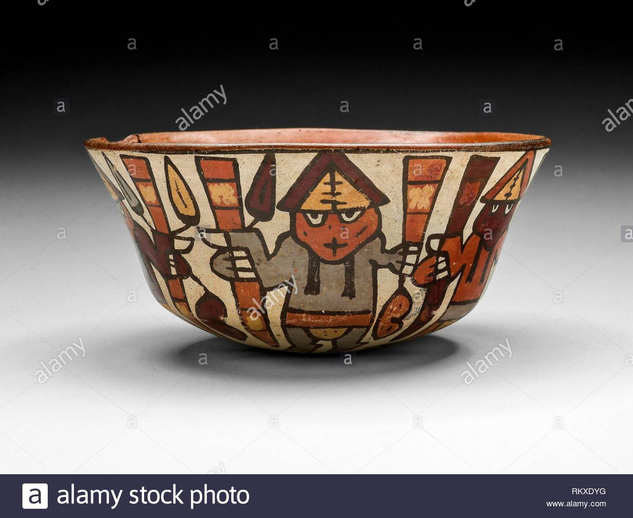 bowl depicting a harvest dance 180 bcad 500 nazca south coast peru artist nazca origin peru date 180 bc500 ad medium ceramic and RKXDYG