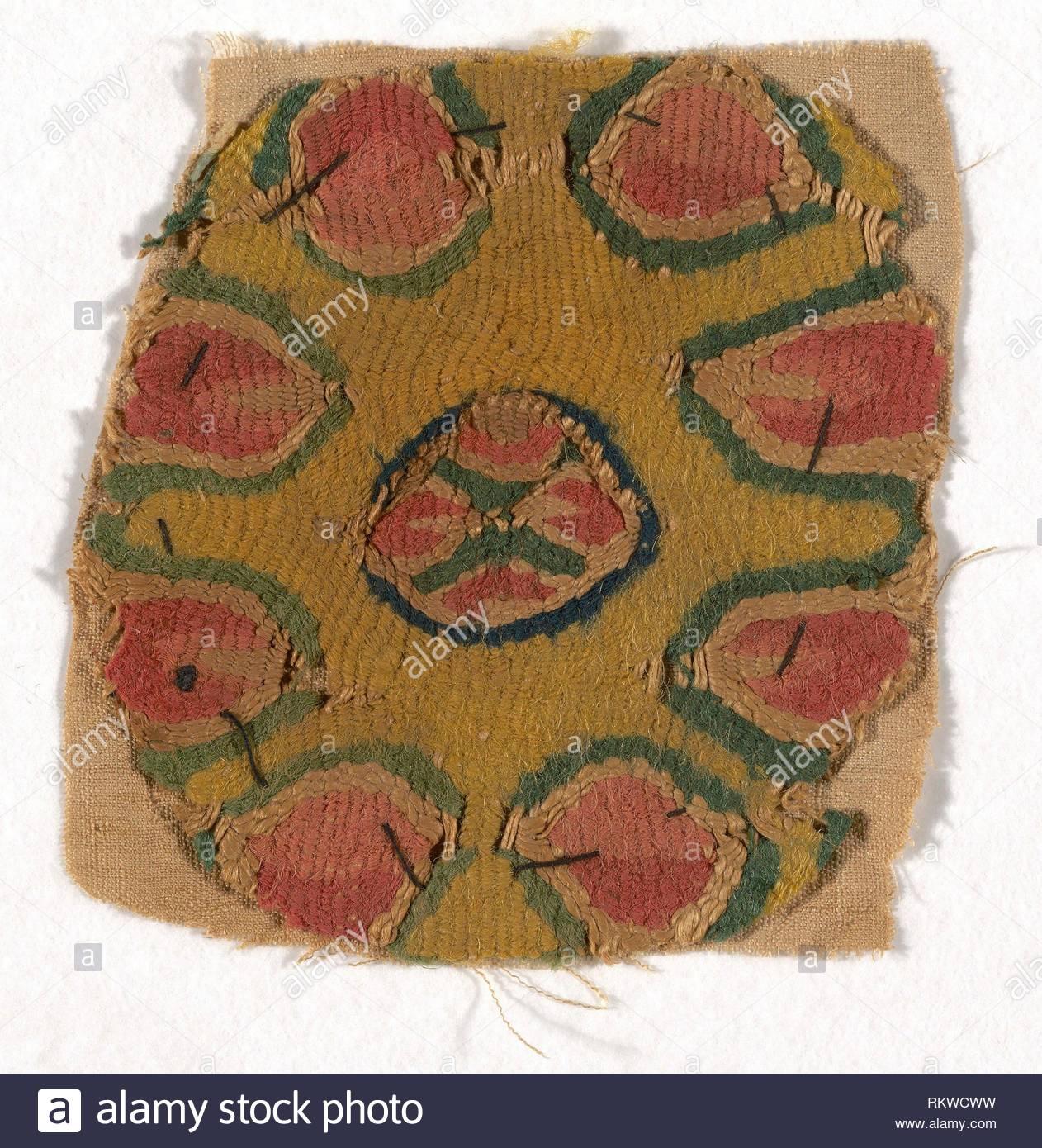 roundel roman period 30 bc 641 ad arab period 5th8th century coptic egypt artist coptic origin egypt date 401 ad800 RKWCWW