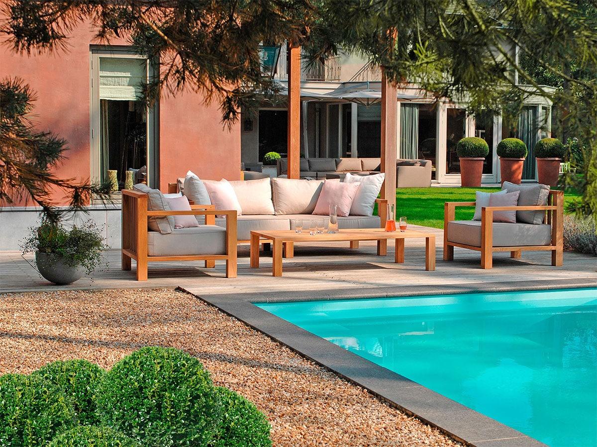 terrasse gestalten lounge moebel