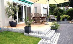 34 Schön Terrassengestaltung Ideen Pflanzen