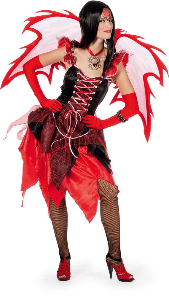 Teufel Kostüm Halloween Frisch Teufel Kostüm Damen Teufelin Rot Schwarz Devil Halloween