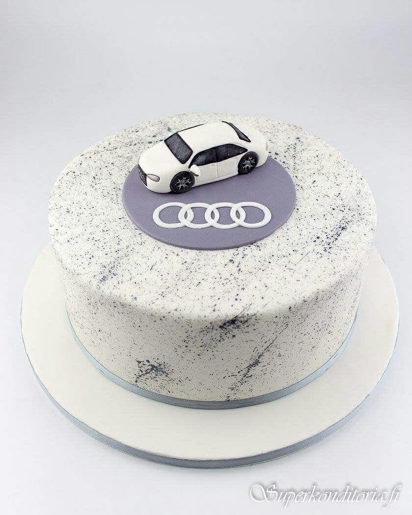 Tortendeko 18 Geburtstag Genial Audi Kakku Audi Cake