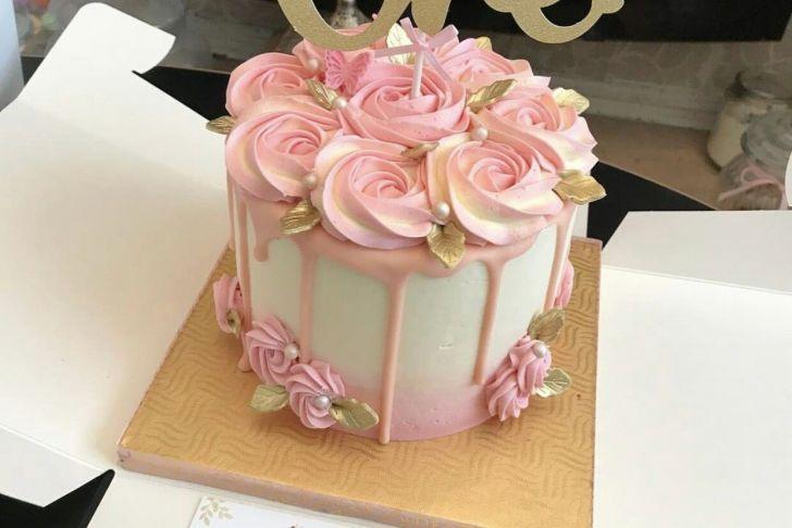 Tortendeko 18 Geburtstag Genial Smash Cake for Madelyn