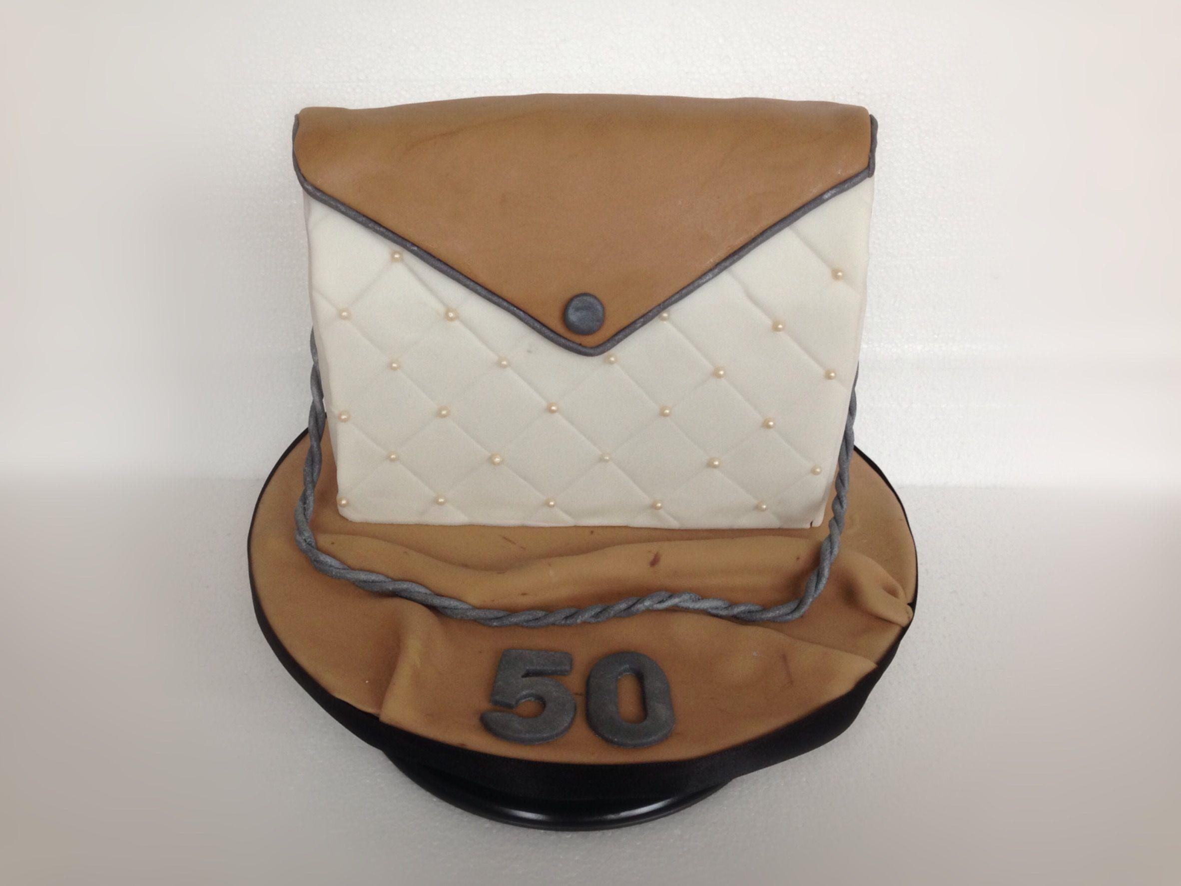 Tortendeko 50 Geburtstag Einzigartig Handtaschen torte Taschen Kuchen …