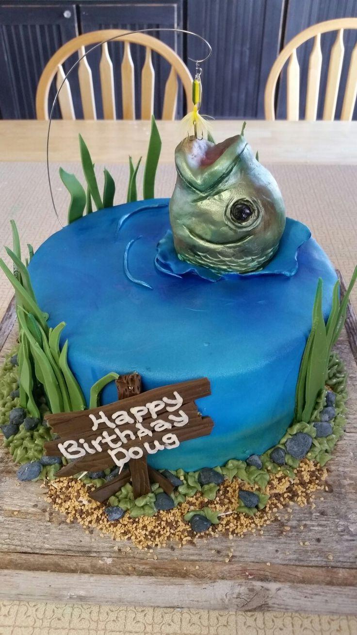 Tortendeko 50 Geburtstag Schön Bass Cake Ad In 2020