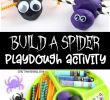 Verkleidung Halloween Kinder Elegant Build A Spider Playdough Activity Fun Halloween Playdough