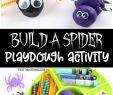 Verkleidung Halloween Kinder Elegant Build A Spider Playdough Activity Fun Halloween Playdough