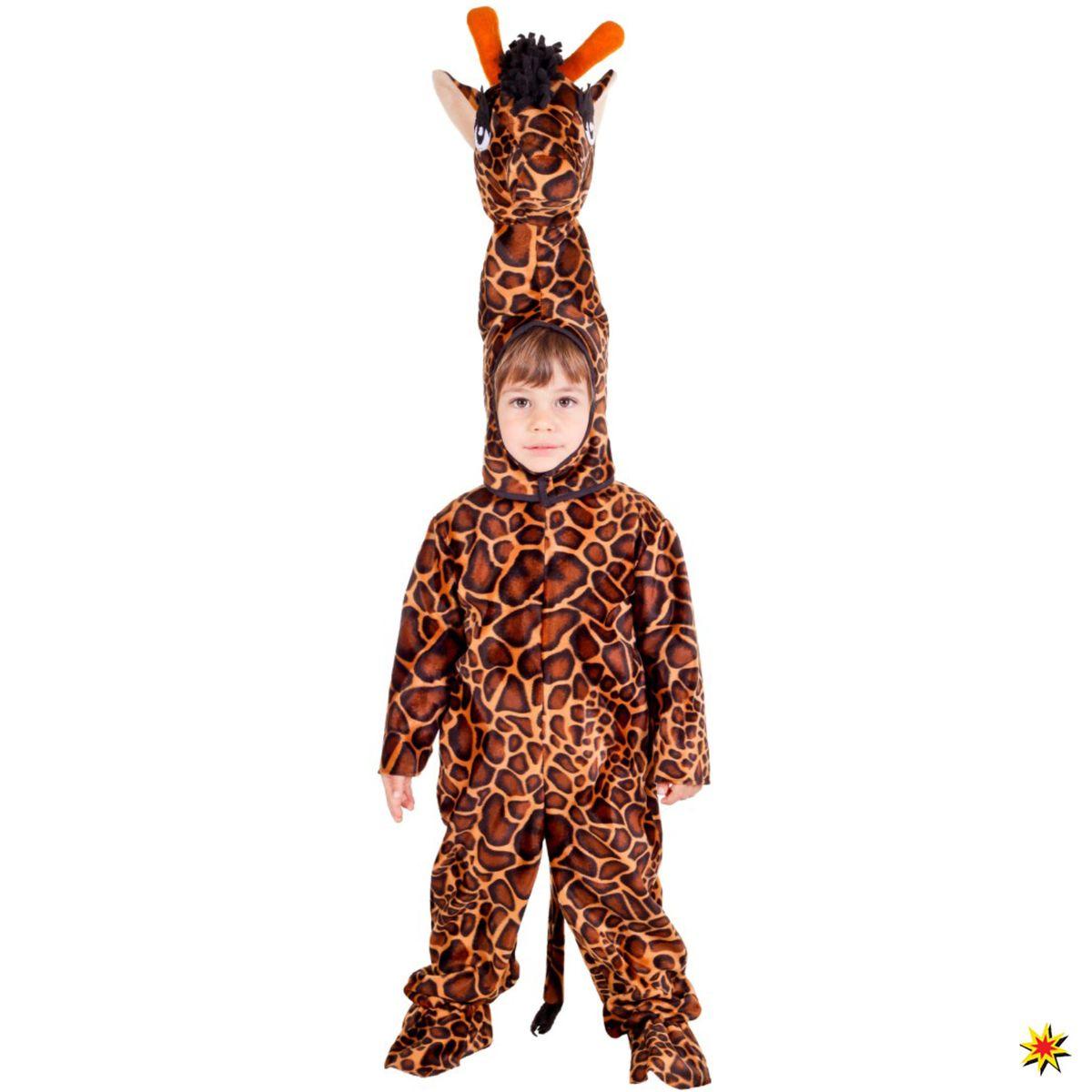 Kinder Kostuem Giraffe Flecki 1