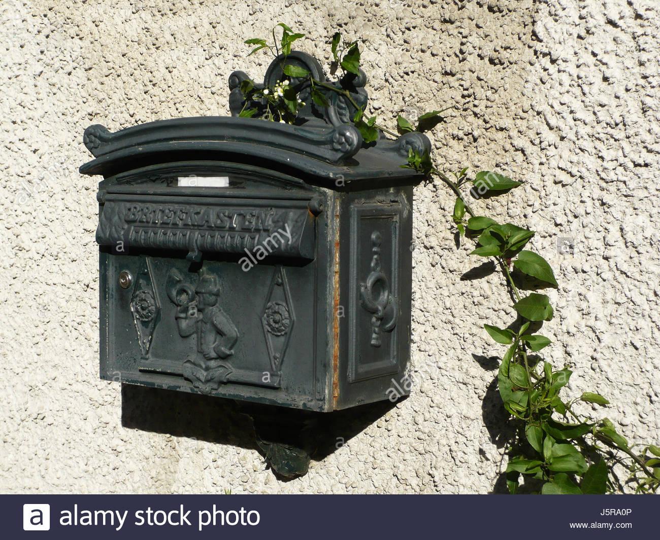warten sie warten grune horn eisen rost metall postfach verrosteten geduld langen brief j5ra0p