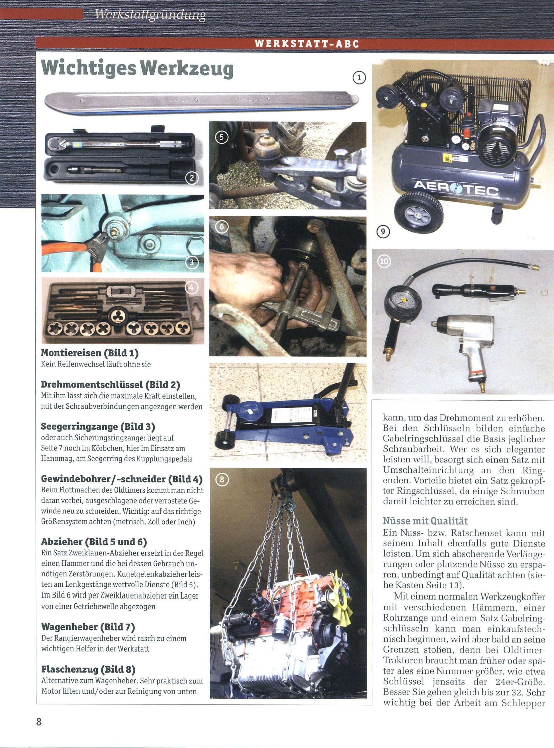 das grosse traktor schrauberbuch