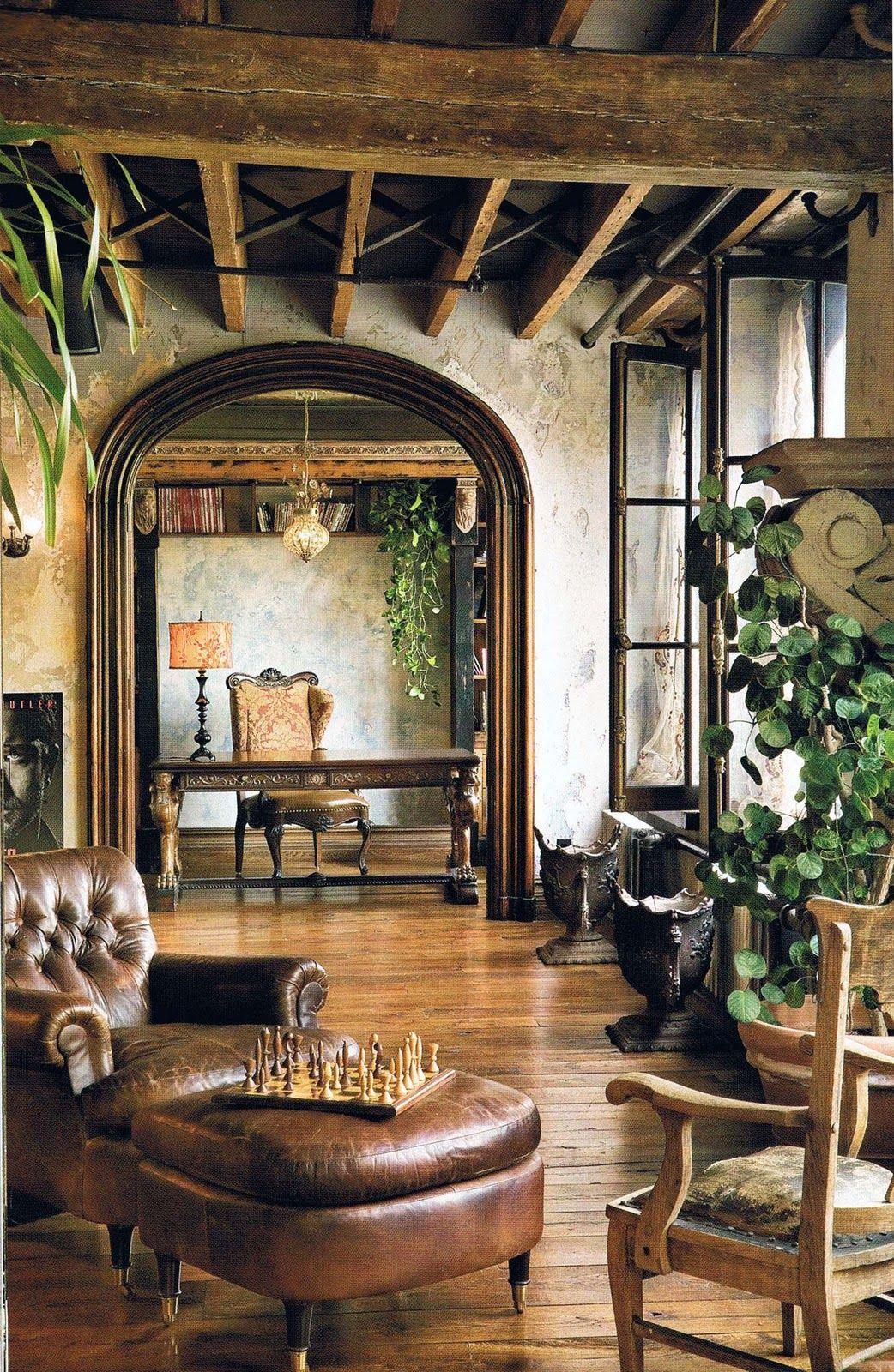 Vintage Garten Gestalten Genial Звездный интерьер Богемный и роскошный Рофт Джерарда