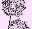Vintage Gartendeko Elegant Schablone Lilie A4 Für Stoffe Möbel Usw Nr 6